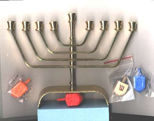 Traditional Modern Menorah